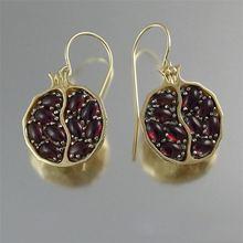 FDLK-pendientes de oreilles para mujer, aretes Vintage para mujer, joyas, aretes en grenat, pendentif en pierre CZ
