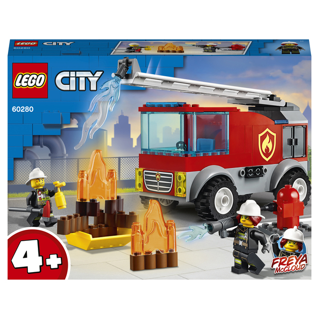 Конструктор LEGO City Fire Пожарная машина с лестницей