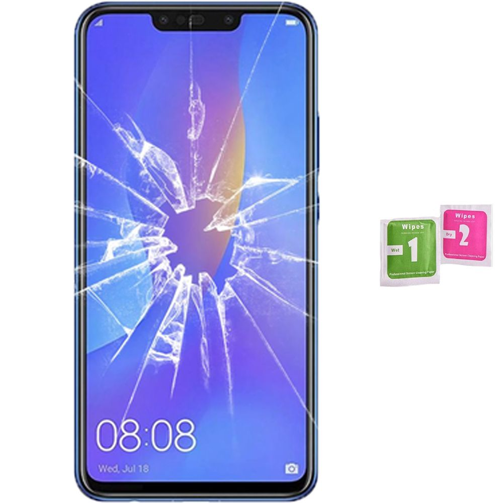 Screen Protector Tempered Glass Vidrio For HUAWEI P SMART PLUS 2018 (Generico, Not Full