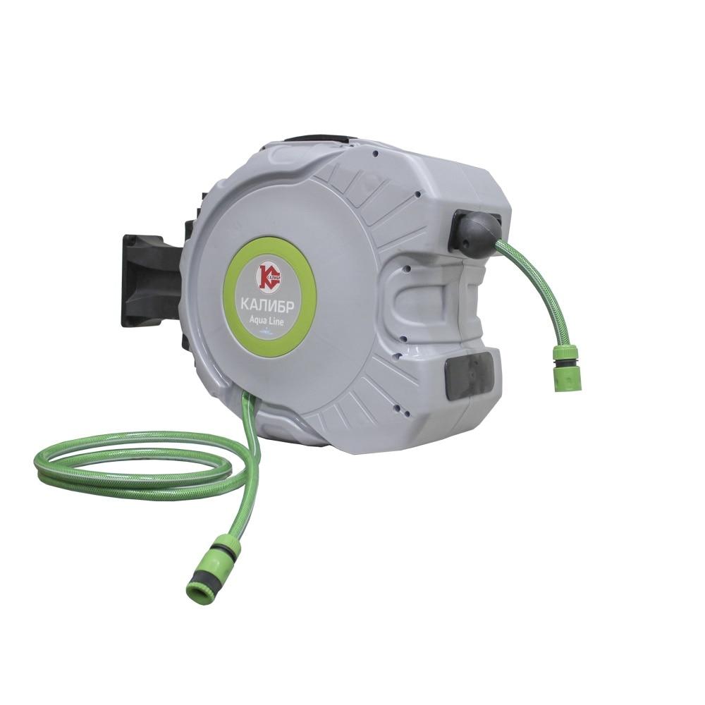 цена Kalibr SHPAK-30 Automatic watering hose on automatic spool garden tools онлайн в 2017 году