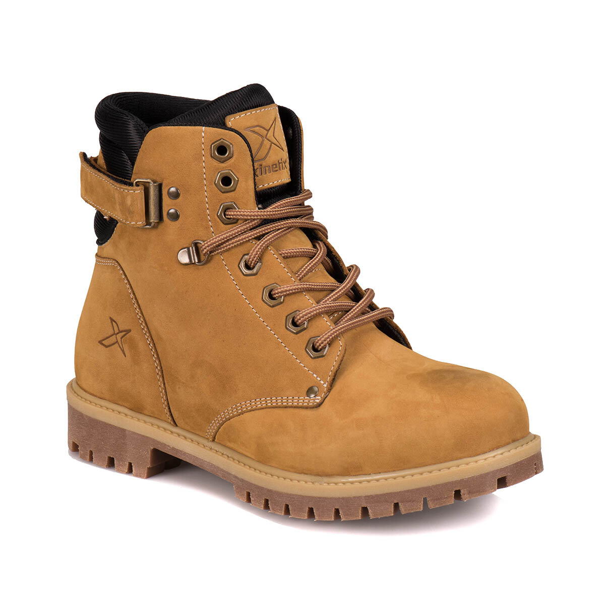 FLO A1305049 Yellow Men Boots KINETIX|Basic Boots| |  - title=