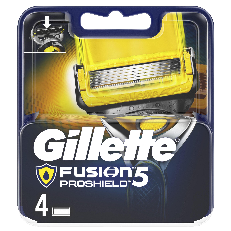 Gillette Fusion5 ProShield replacement cassettes 4 pcs. цена 2017