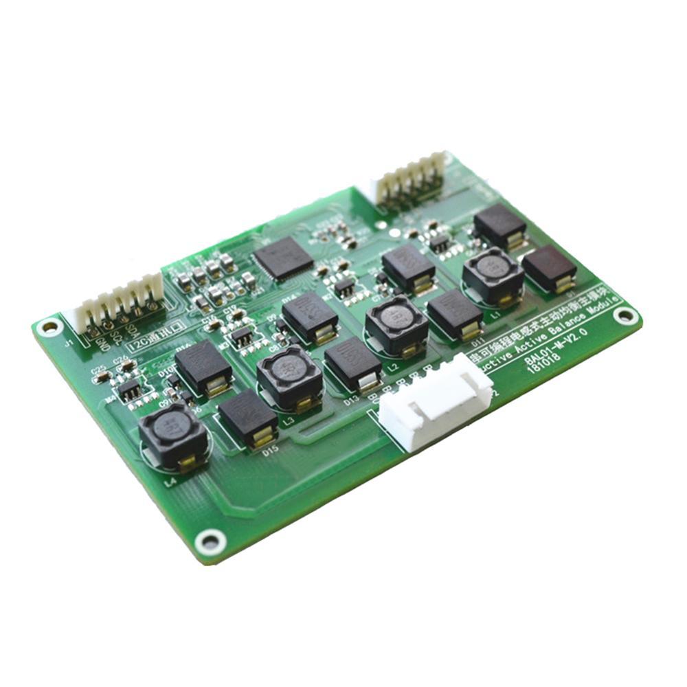 Taidacent 350mA 3S 4S LiFePo4/Li Cobalt/High Voltage Li Inductive Active Balancer BMS PCM Battery Protection Board With Balance