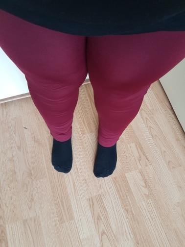 Winter Pants Women Office Thick Warm Fleece High Waist Pencil Pants Stretch Black White Trousers Plus Size 5Xl 6Xl Leggings photo review