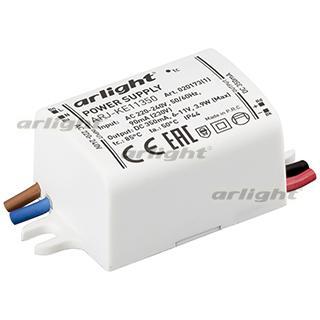 020173(1) Power Supply Arj-ke11350 (4W, 350ma) Arlight Box 1-piece