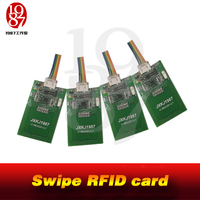 JXKJ1987 real life adventure game escape room prop swipe RFID card in right sequence to unlock puzzles custom props