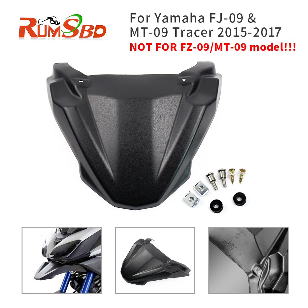 Front Fender Beak For Yamaha MT09 Tracer MT 09 MT-09 FJ-09 FJ09 Motorcycle Accessories Cowl Guard Extension 2015 2016 2017