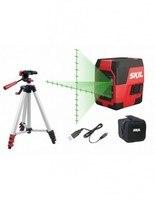 Skil 1911da laser crossline (verde) 20 metros de visibilidade máxima-carregamento usb