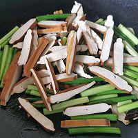 蒜苔香干的做法图解4