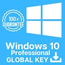 Windows 10 Pro,Профессиональный 100% Рабочая, глобальный ключ.Key.Windows 10
