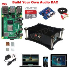 Raspberry Pi 4 Model B + B Plus DAC Kit D4B01 2G