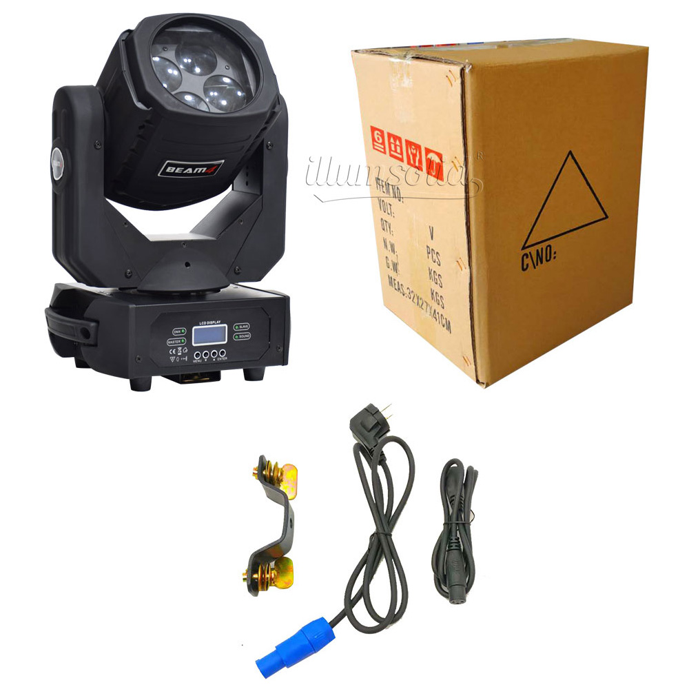 Image 5 - Dmx party lights super beam 4x25w led moving head light Stage professional lighting 2pcs/lotStage Lighting Effect   -