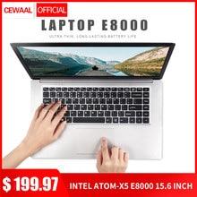15.6 Inch 1080P Laptop Windows 10 Intel E8000 Quad Core 4GB RAM 64GB 128GB 320GB SSD Notebook with F
