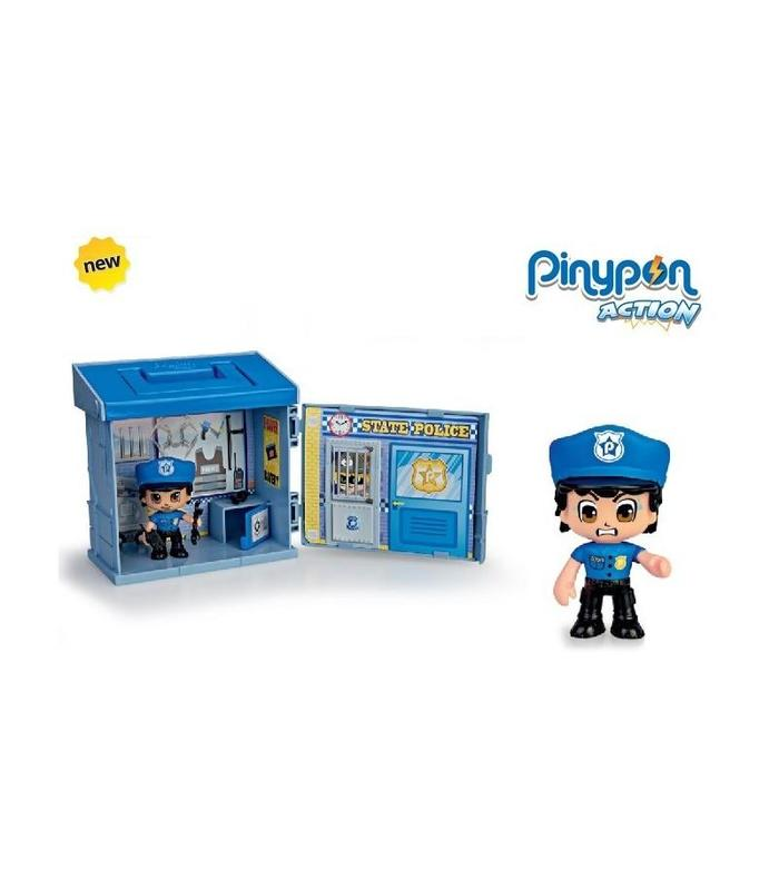 Pinypon Action-police Station With Policeman Toy Store