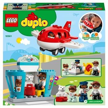 Конструктор LEGO DUPLO Town Самолет и аэропорт 3