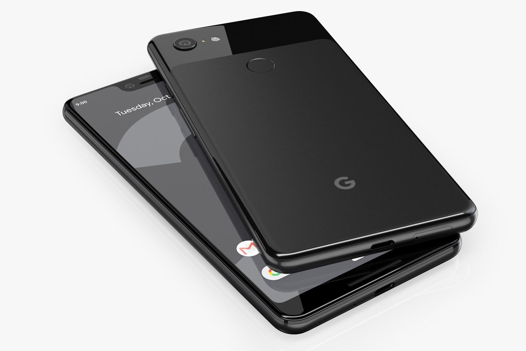 Смартфон Google Pixel 3 оригинал, телефон с 5,5-дюймовым 4 ГБ ОЗУ64 ГБ ПЗУ