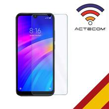 ACTECOM Protector de Pantalla para Xiaomi Redmi 7 Cristal Templado 9H 2.5D Glass Premium 0,3mm Tempered Screen for Clear Vidrio