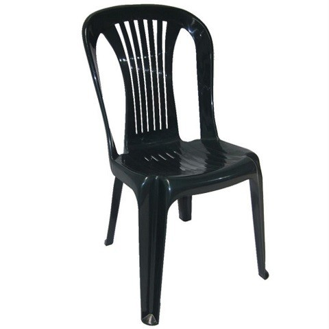 Chair LAKE, Monoblock, Stackable, Green