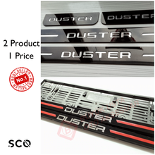 License-Plate-Frame Sill-Cover Car-Accessories 52x11-Plates for Dacia Duster 2-Product