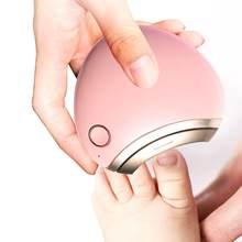 Máquina de cortar unhas elétrica automática bonito aparador cortador de unhas manicure pedicure clipper aparador de unhas tesoura infantil cuidados com as unhas