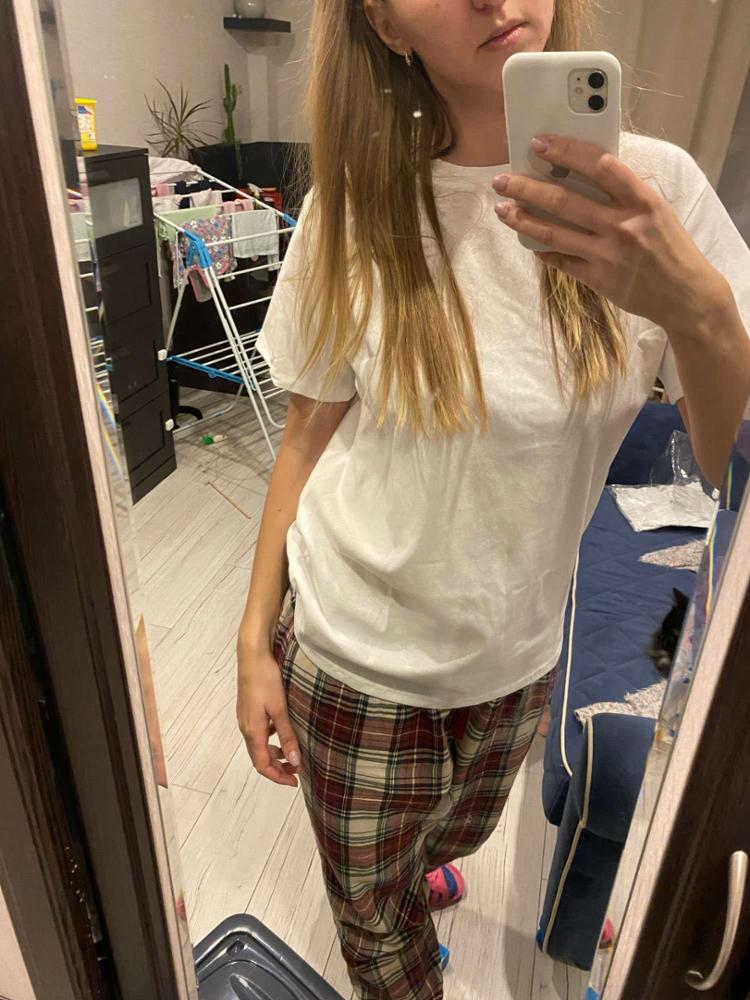 Basic T Shirt Women Summer New Oversized Solid Tees 7 Color Casual Loose Tshirt Korean O Neck Female Tops photo review