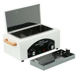 Caixa profissional do esterilizador de alta temperatura, caixa para o salão de beleza do prego, esterilizador portátil, ferramenta