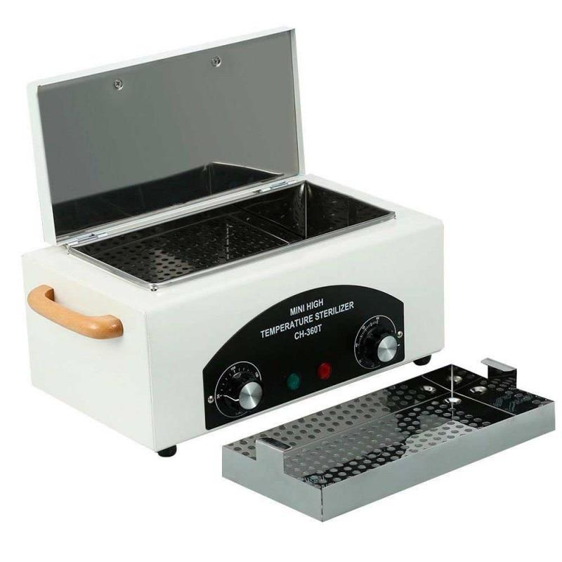 Caixa profissional do esterilizador de alta temperatura para a ferramenta portátil do esterilizador do salão de beleza do prego