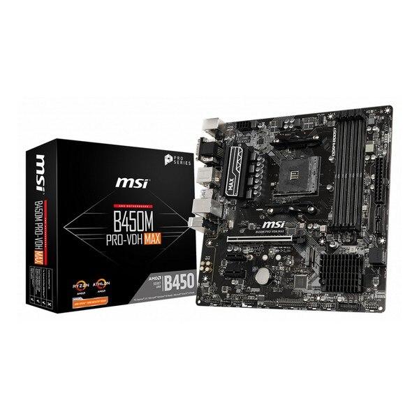 Motherboard MSI B450M Pro-VDH Max mATX DDR4 AM4