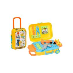 Grandpa Suitcase Toy Repair Kit for Children, Toy Suitcase, 3 Years and Over, 13 Pieces, colorful and Educational