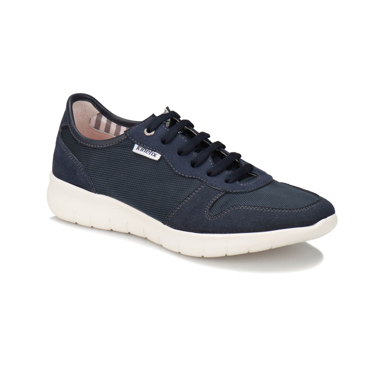 FLO ALBAR Navy Blue Men 'S Shoes KINETIX