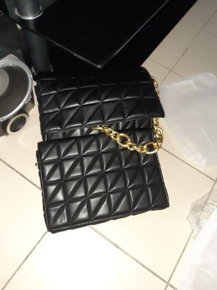 Lady's leather handbag