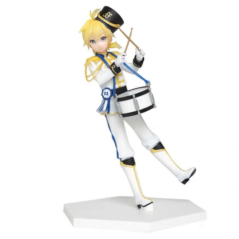 In Stock Original Taito Kagamine Len Winter Live PVC Action Figure Model Figurals Dolls