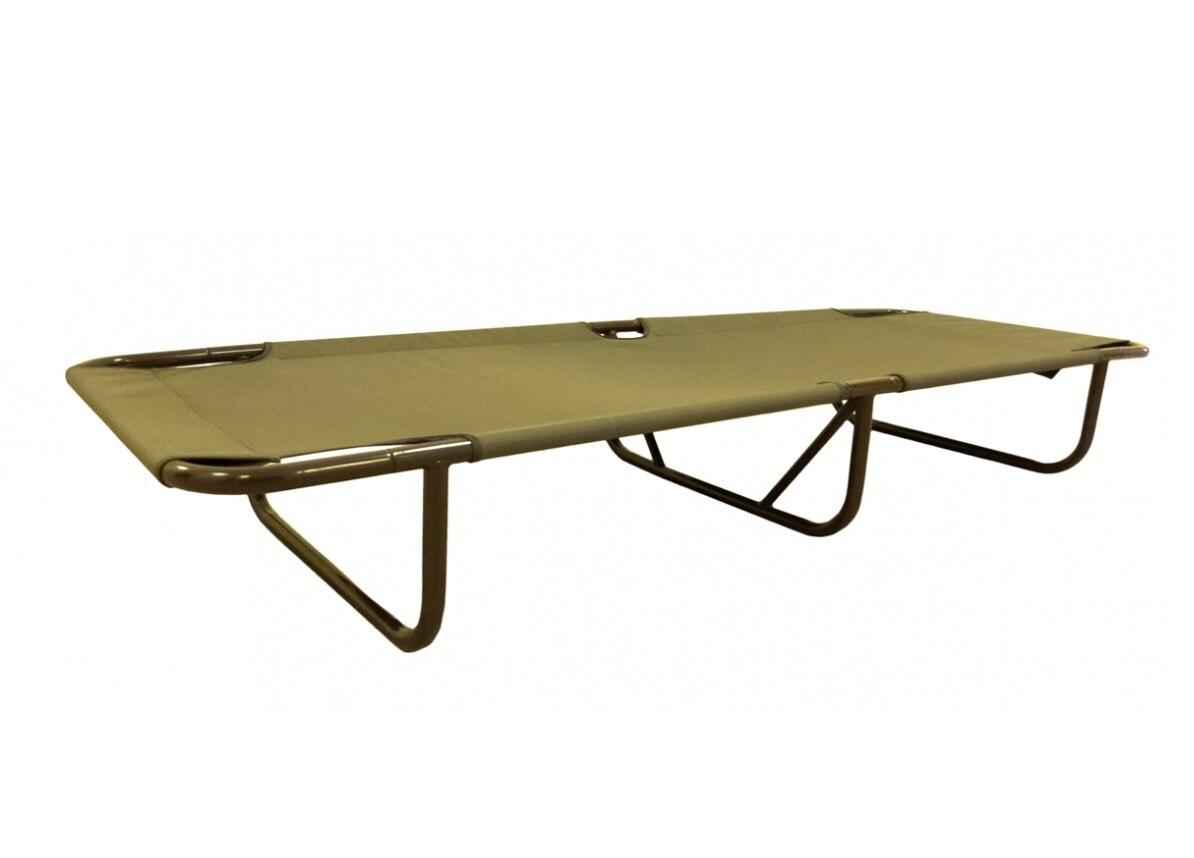 Раскладушка Митек разборная стальная (190х64х20 см, до 200 кг)|Походные спальные мешки| | АлиЭкспресс