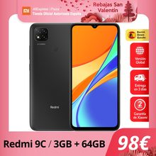 Xiaomi Redmi 9C 3GB 64GB Versión Global Octa Core 6.53