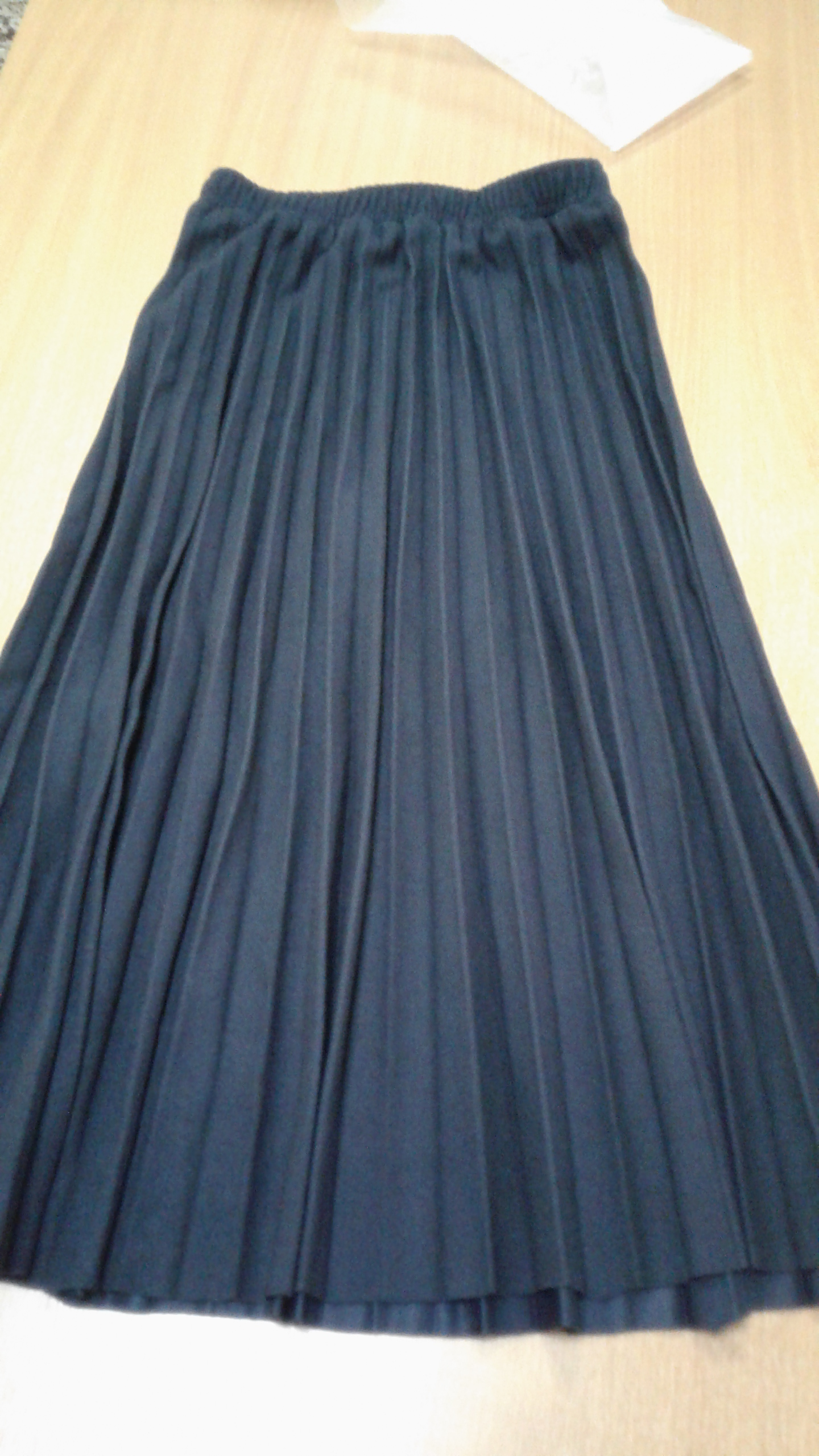 Winter Women Woolen Skirts High Waist A Line Long Pleated Skirt High Quality Women Skirt Faldas Jupe Femme Saia photo review