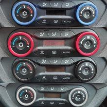 Ar condicionado botão decorativo anéis de cobertura para lada vesta xray cruz sedan universal esporte sw cruz