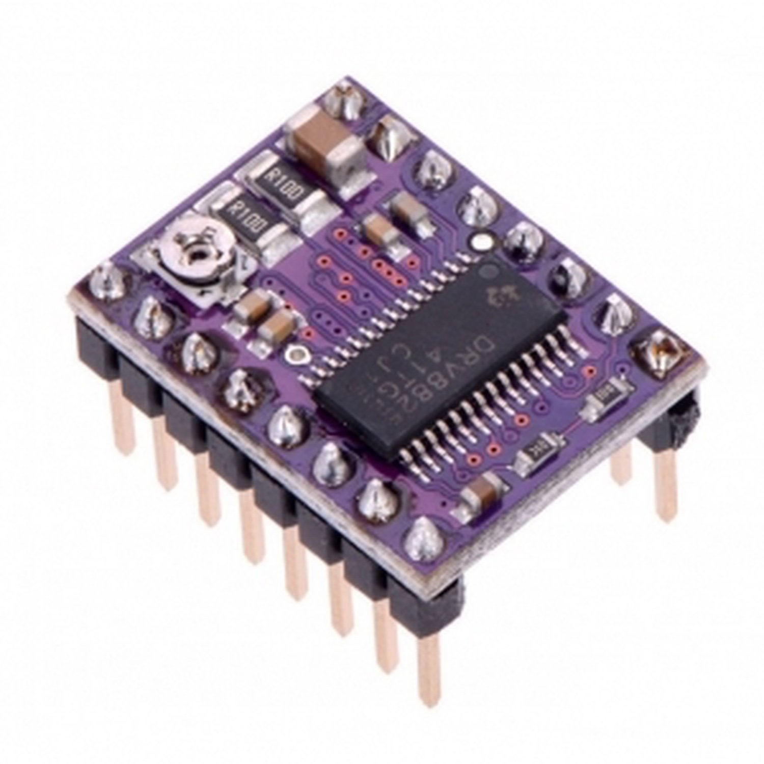 DRV8825 Stepper Engine Driver Carrier, High Current-ramps 1.4 rumba motherboard drv8825 a4988 stepper motor driver 12864 lcd display 4015 fan jumper wire for reprap 3d printer parts
