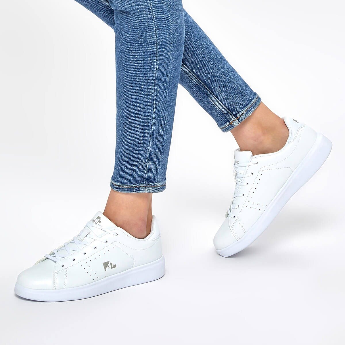 FLO HELENA 9PR White Women 'S Sneaker Shoes LUMBERJACK