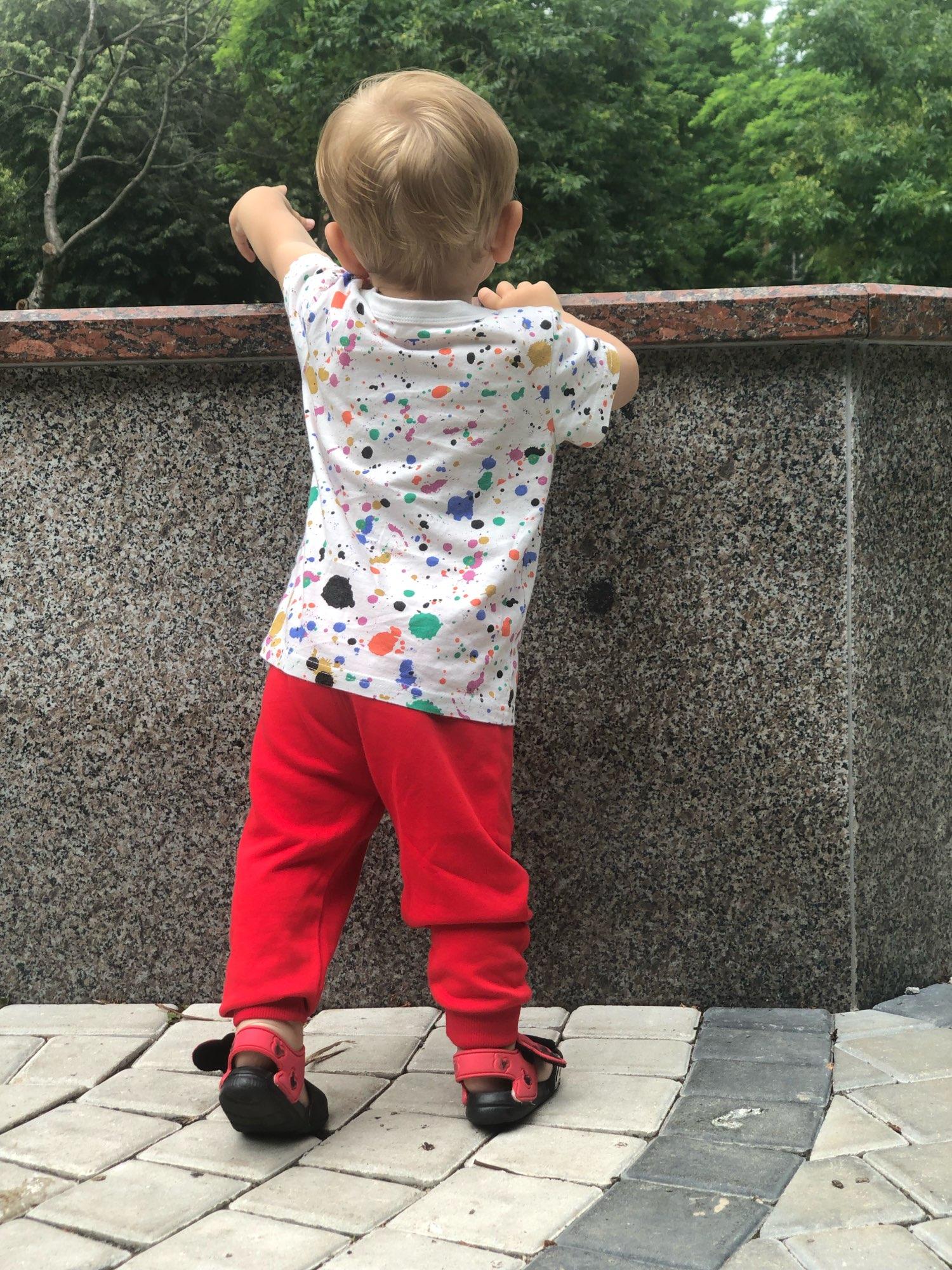 Children Autumn Winter Trousers Infant Boys Pants Toddler Loose Casual Cotton Harem Pants Soft Jogger Pants Baby Clothing 0-5y photo review