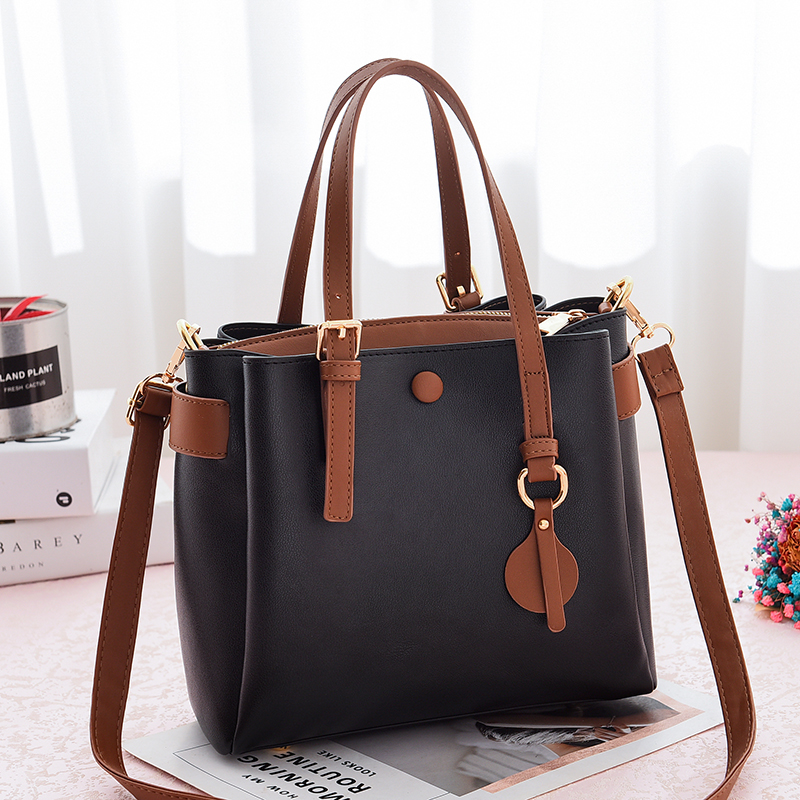 New Sale Large Women's Bag Large Capacity Shoulder Bags High Quality PU Leather Shoulder Bags Ladies Wild Bags Sac a Main Femme