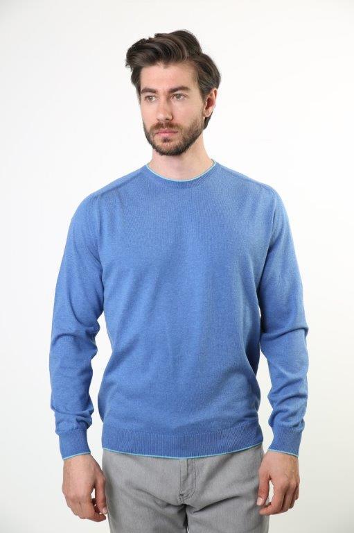 Sweater Bike Collar Men 'S Sweater 1638-1