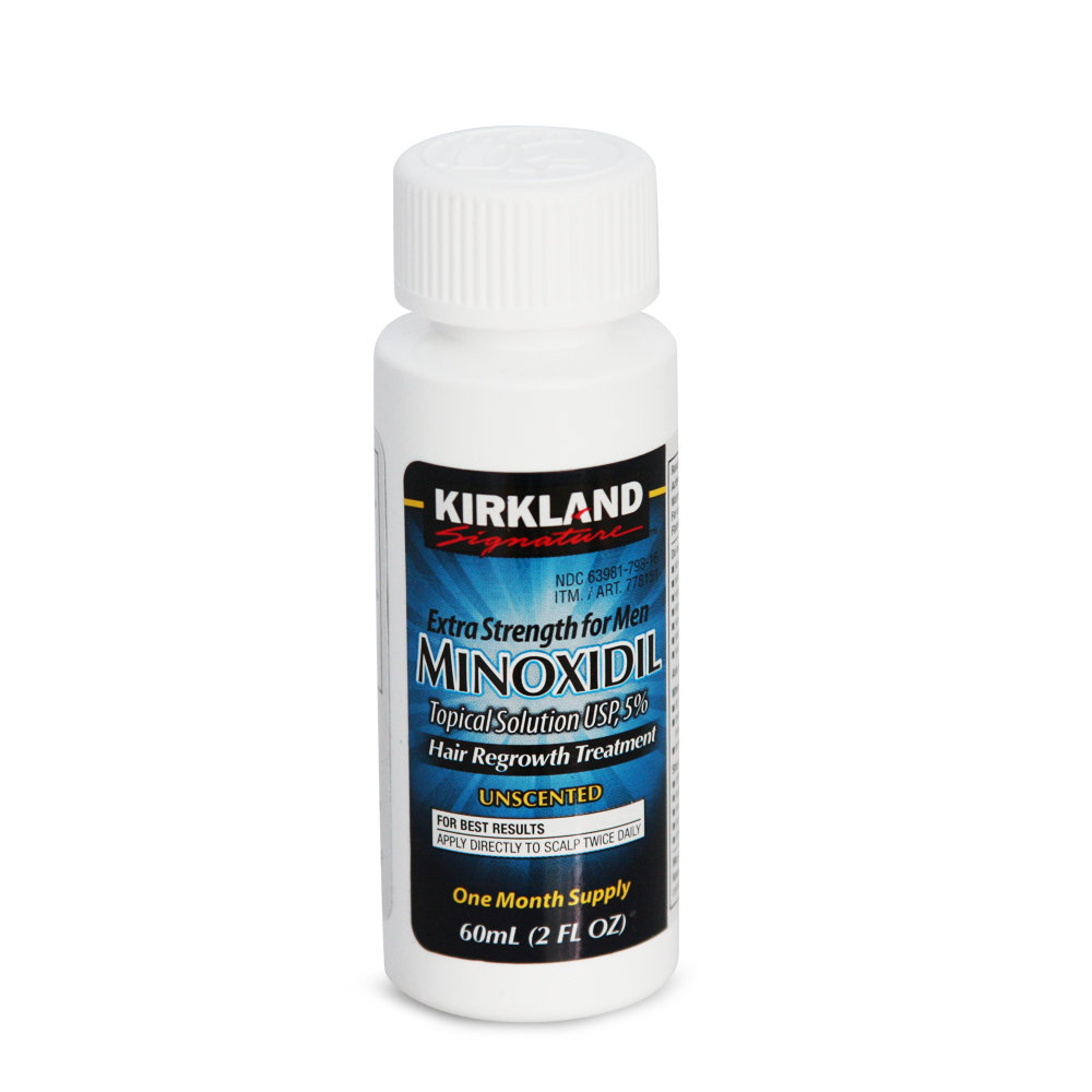 Minoxidil Kirkland 5% For Beard Growth And Against Hair Loss