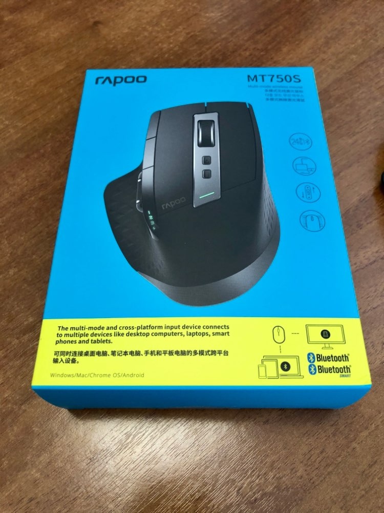 Rapoo MT750S Rechargeable Multi mode Wireless Mouse Easy Switch between Bluetooth and 2.4G up to 4 Devices for PC and Mac|wireless mouse|wireless mouse bluetoothmouse wireless bluetooth - AliExpress