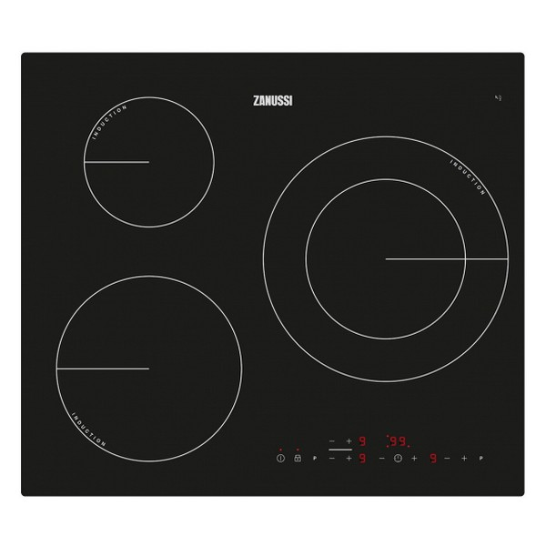 Induction Hot Plate Zanussi ZM6233IOK 60 Cm (3 Cooking Areas)
