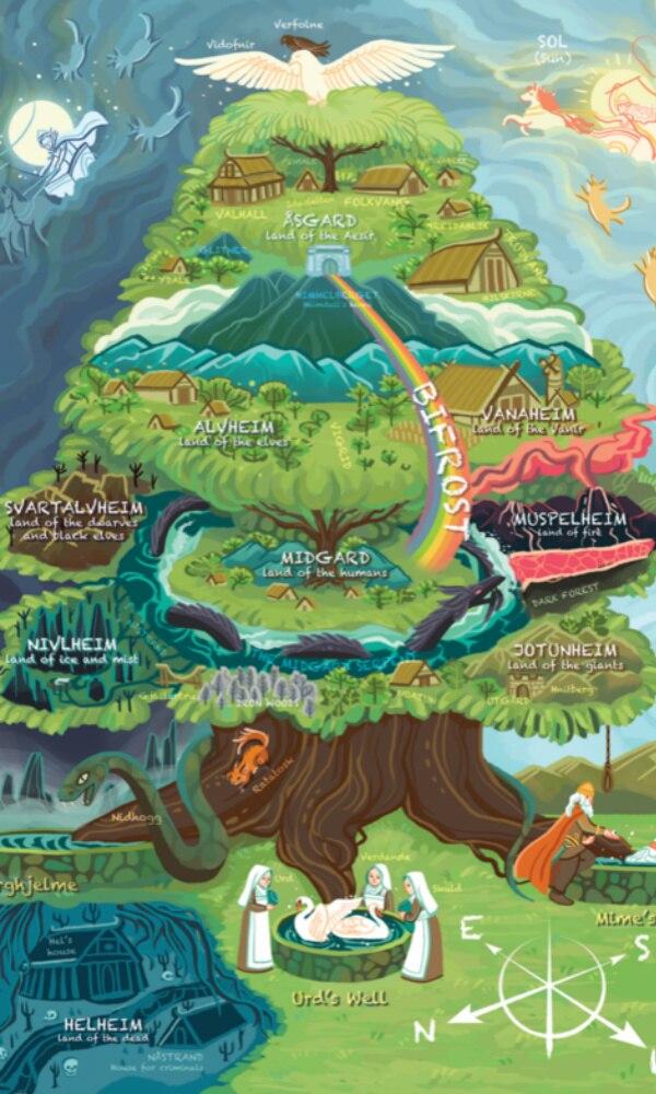 《北欧神话》封面图片
