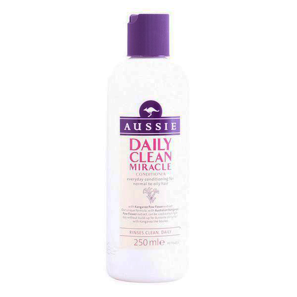 Conditioner For Fine Hair Daily Clean Miracle Aussie (250 Ml)
