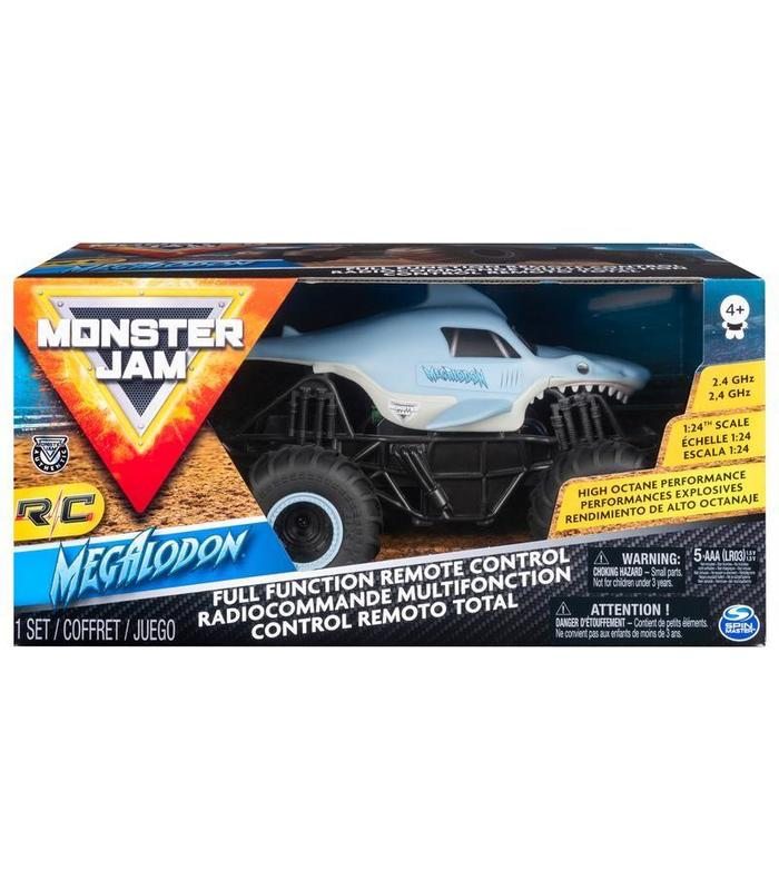 Monster Jam Rc Megaladon 1:24 Toy Store