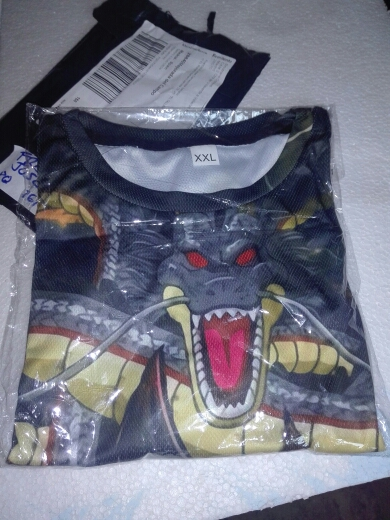 Dragon Ball Z T Shirts 3D Print photo review
