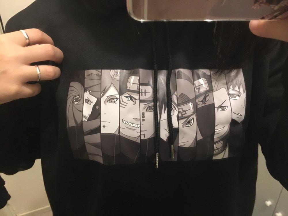 Sweat japonais Naruto Harajuku Unisex