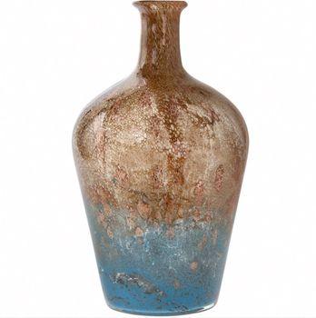 Vase screw turquoise 36 cm